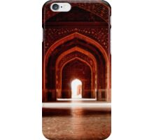 Red Corridor iPhone Case/Skin