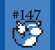 Number 147: Dratini by Geek-Spirations