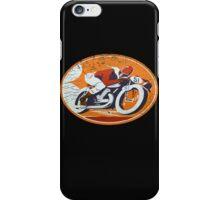 orange rider iPhone Case/Skin