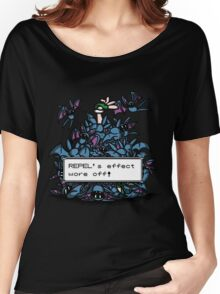 NateWantsToBattle - Repel Wore Off Women's Relaxed Fit T-Shirt