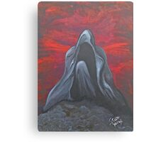 Red Mourning Canvas Print