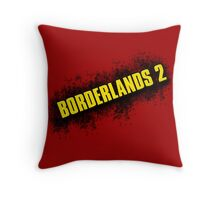 Borderlands 2 - Redone Logo Throw Pillow