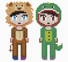 Dan and Phil Pixel People  Kids Clothes