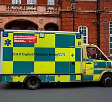 East of England Ambulance Service by Keith Larby
