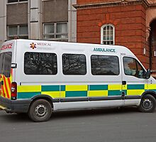 Medical Ambulance Service by Keith Larby