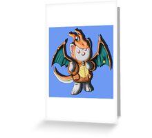 Chari Ferret Greeting Card