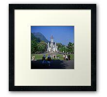 Sanctuary of Lourdes, France 2005 Framed Print
