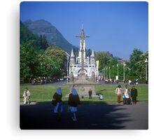 Sanctuary of Lourdes, France 2005 Canvas Print