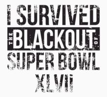 I survived the Blackout of Super Bowl XLVII by breakingBlue