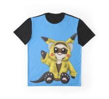 Pika Ferret Graphic T-Shirt