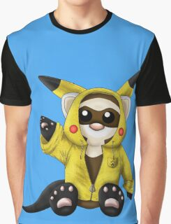 Pika Ferret Graphic T-Shirt