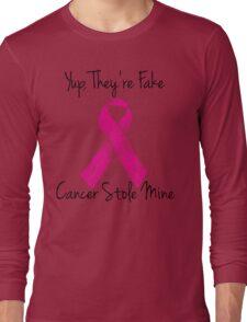 Breast Cancer Survivor Ribbon Long Sleeve T-Shirt