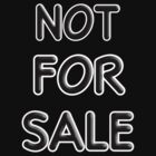 Not for sale by Roxy J