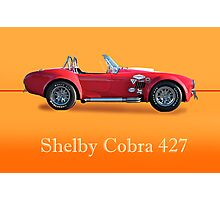 Shelby Cobra 427 w/ ID Photographic Print