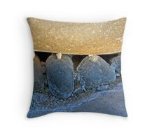 beautiful rock impressions in the Fish River Canyon Namibia Throw Pillow