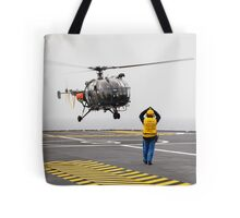 French Aérospatiale Alouette III Helicopter Tote Bag