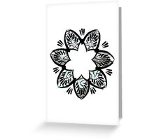 Simplistic and floral Greeting Card