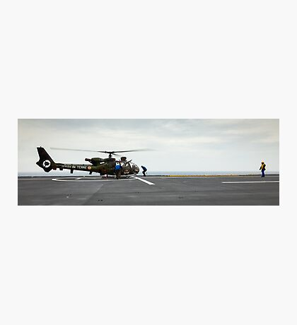 French Aérospatiale Gazelle Attack Helicopter Photographic Print