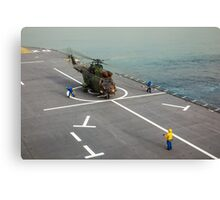 Eurocopter AS332 Super Puma Helicopter Canvas Print