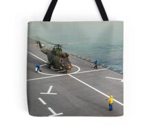 Eurocopter AS332 Super Puma Helicopter Tote Bag