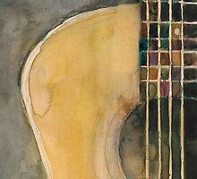 Sam's Acoustic Guitar by Dorrie  Rifkin