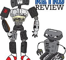 Retro Review Mascot by RetroReview