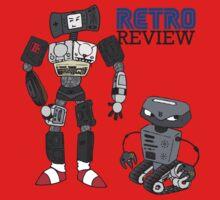Retro Review Mascot Kids Clothes