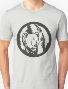 Grizzly Bear Vintage Design T-Shirt