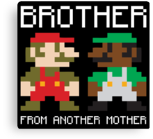 Brother From Another Mother Shirt Canvas Print