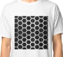 HXG2 BK MARBLE SILVER Classic T-Shirt