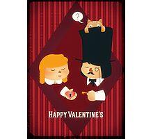 Happy Valentine's Photographic Print