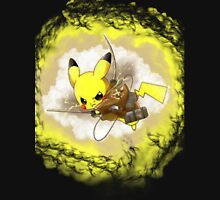 Pikachu! LIGHTNING ON TITAN! T-Shirt