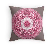 Altered Egyptian metalwork design, 1876 Throw Pillow