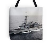 Old French Navy Destroyer Tote Bag