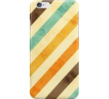 Vintage Fade Stripes iPhone Case/Skin