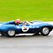 Jaguar D Type No 32 by Willie Jackson