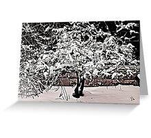 Snow Tree © Greeting Card