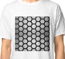 HXG2 BK MARBLE SILVER (R) Classic T-Shirt
