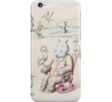 Herman the Hippopotamus iPhone Case/Skin