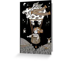 Millie's Moo Mobile  Greeting Card
