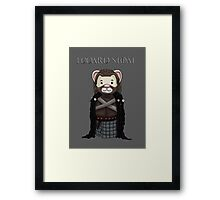 Eddard Stoat Framed Print