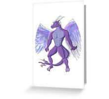 Azure Paragon - Stand Strong and Smile Greeting Card