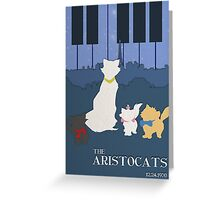 The Aristocats Greeting Card