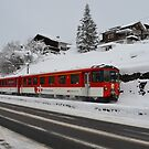 swiss train by Daidalos