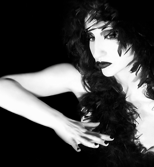 The Reluctant Reveal - Self Portrait by Jaeda DeWalt