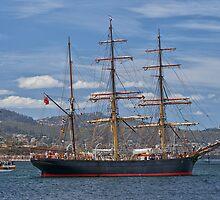 James Craig, Hobart, Tasmania by Chris Cobern
