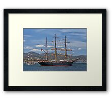 James Craig, Hobart, Tasmania Framed Print