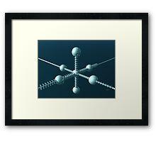 Space Station 2048 Framed Print