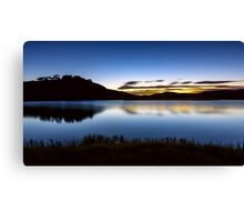 Sunrise - Pretty Valley Pondage Canvas Print