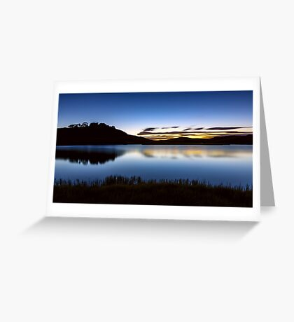 Sunrise - Pretty Valley Pondage Greeting Card